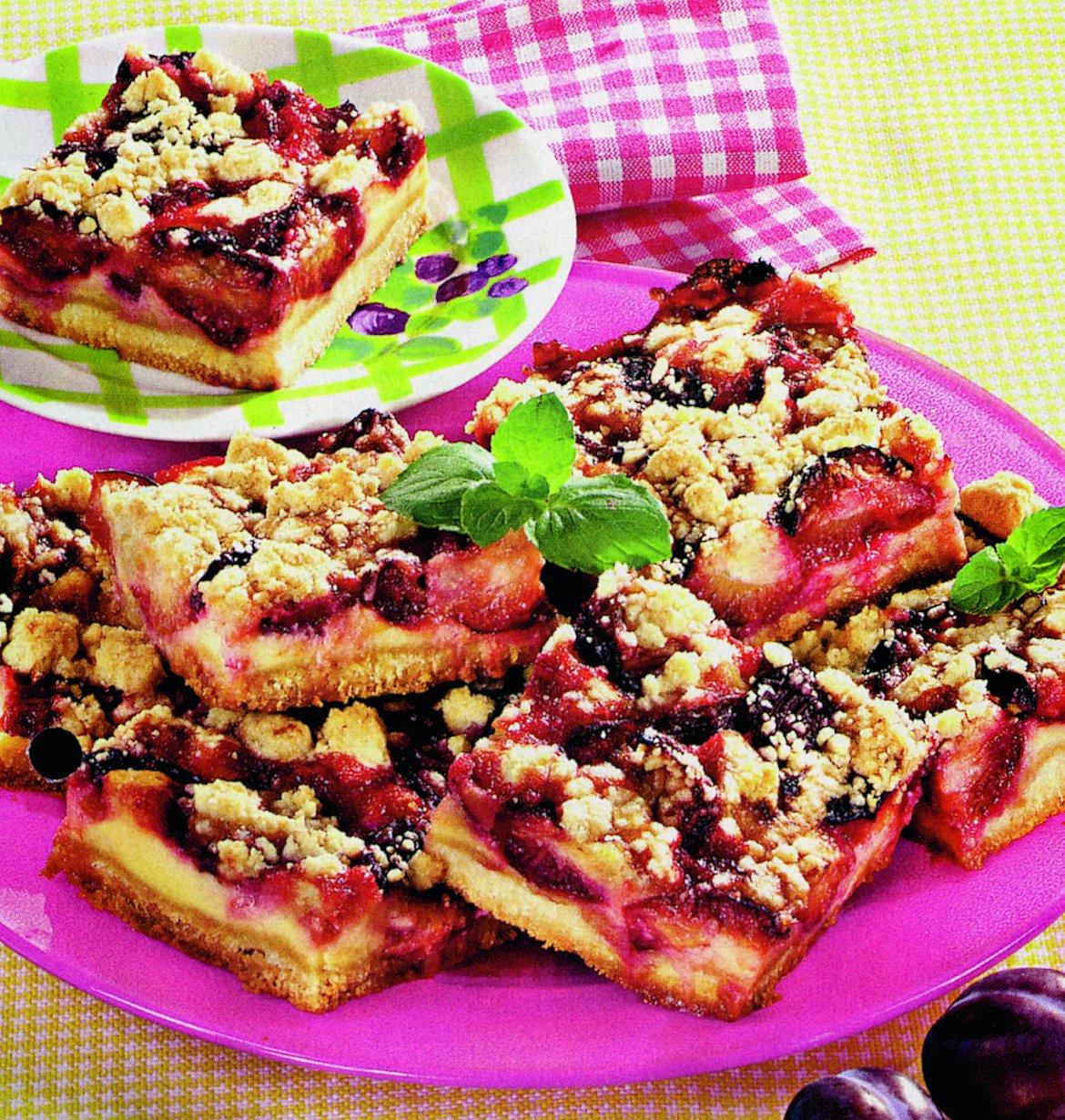 Prăjitură cu gem de prune