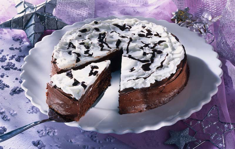 Tartă de ciocolată cu frișcă thumbnail