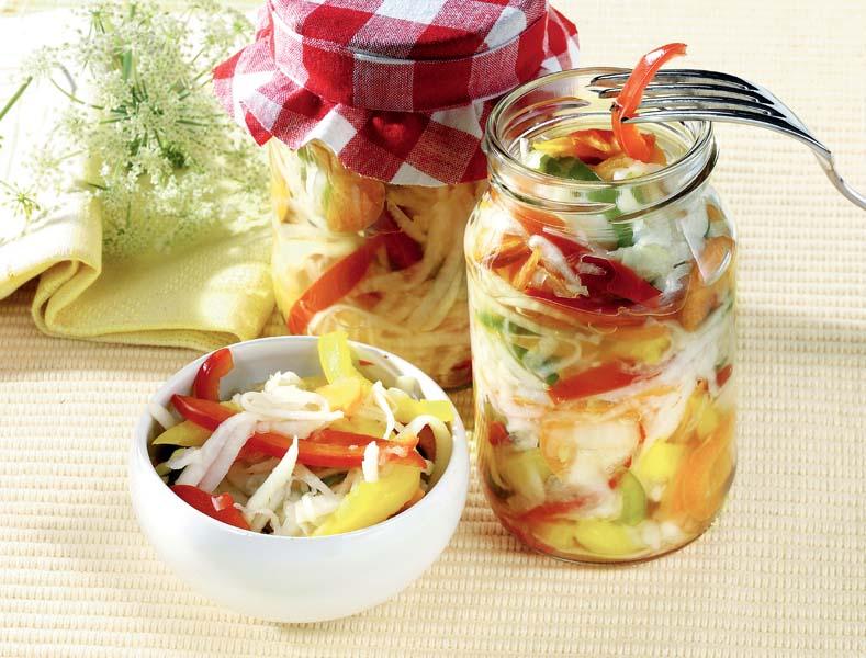 Salată asortată pentru iarnă