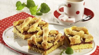 Prăjitură cu gem