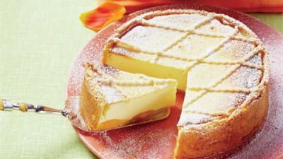Pască cu brânză dulce