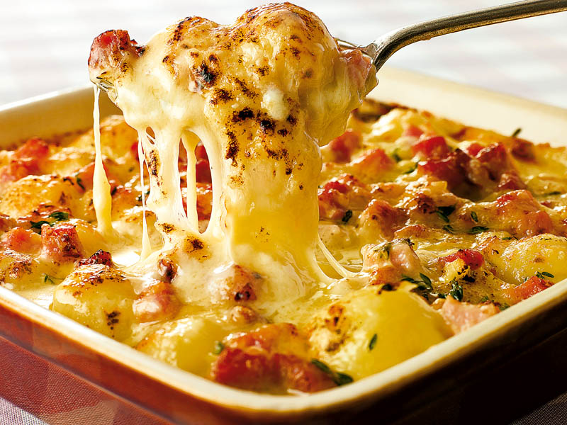 Cartofi gratina i retete culinare romanesti si din for Cocinar con cookeo