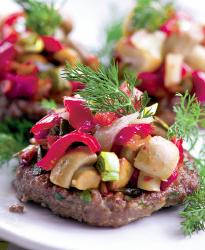 Hamburgeri cu legume