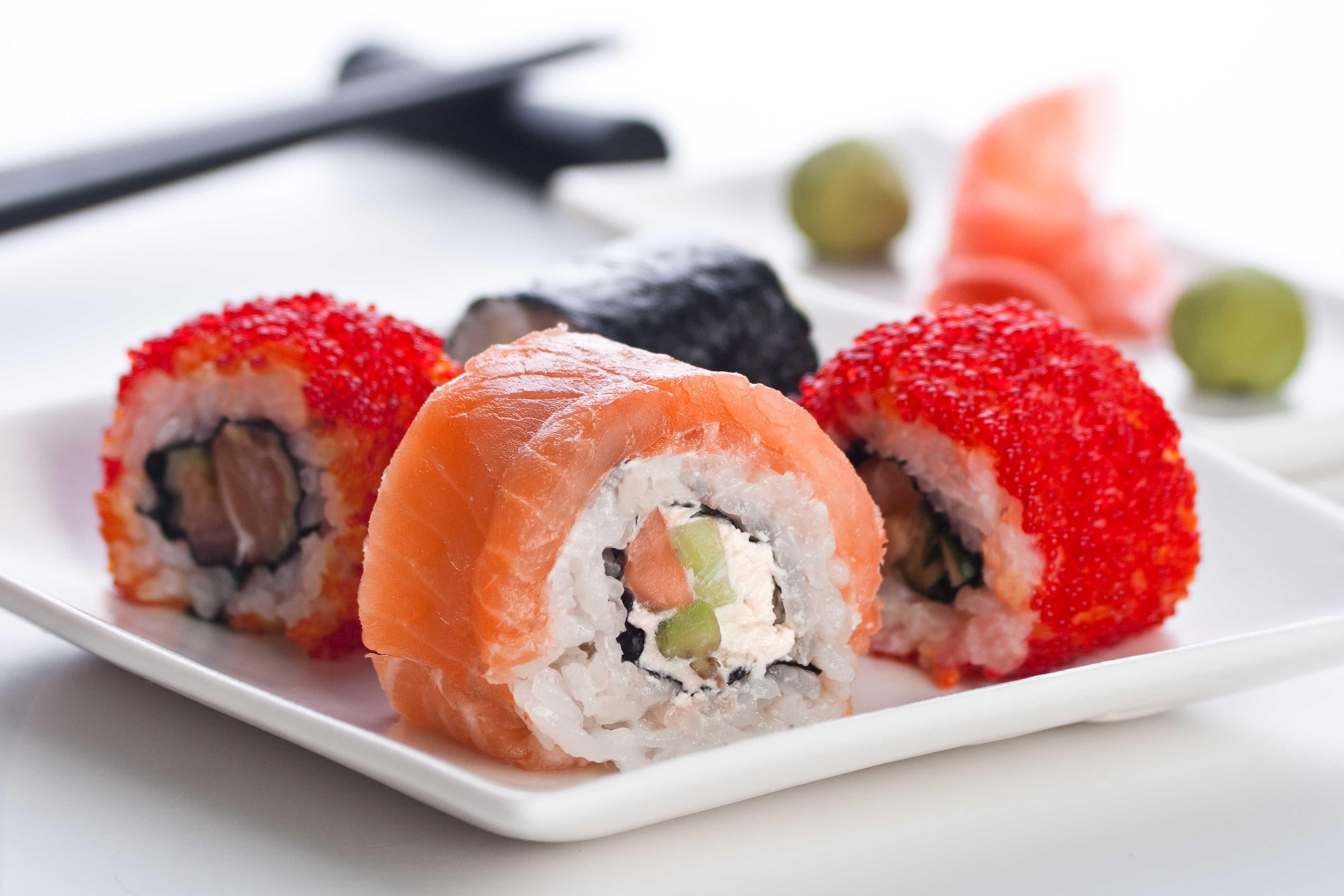 Bucataria internationala - sushi ar fi un exemplu pentru retete mai putin autohtone, dar apreciate.