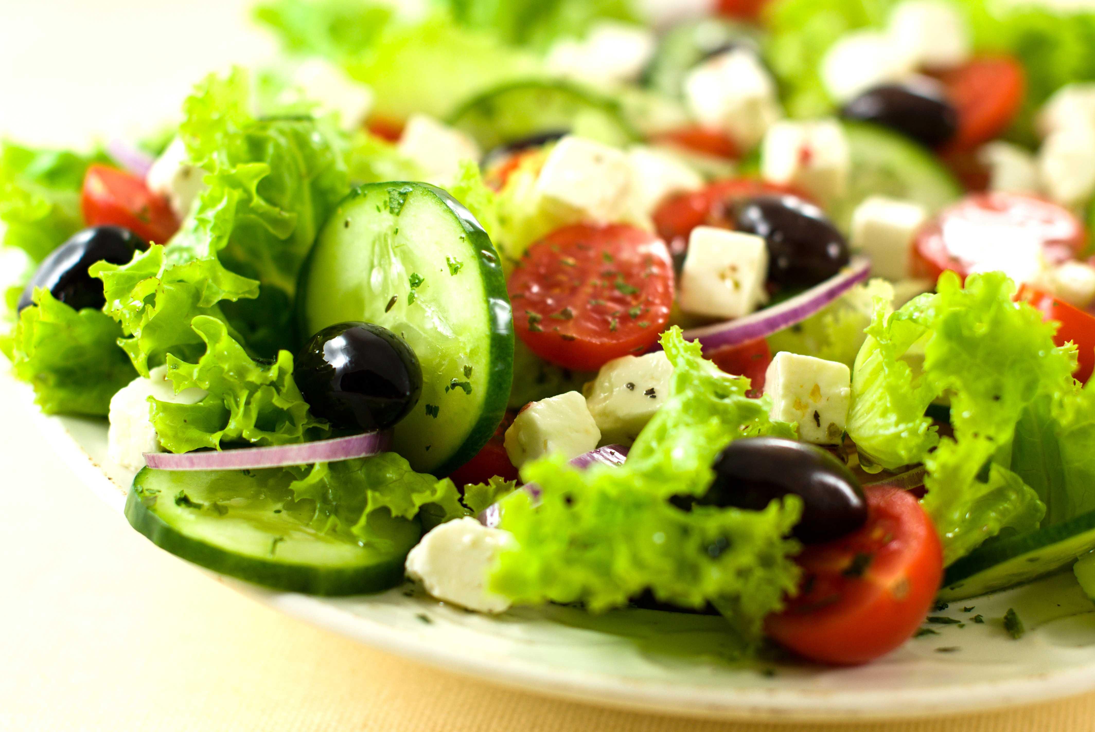 Bucataria greceasca, poate cel mai bine recunoscut pentru salata greceasca