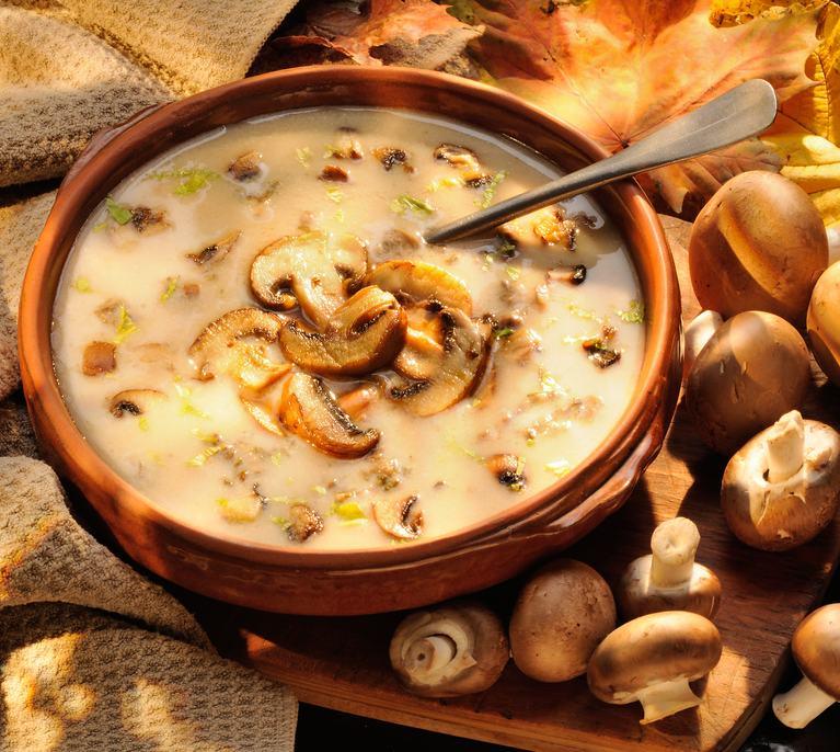 Supă cu ciuperci thumbnail