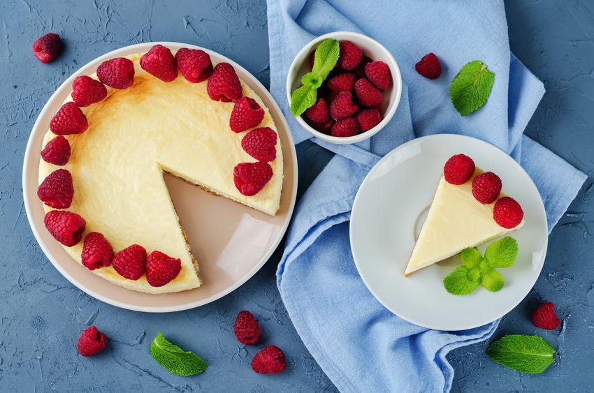 Rețetă de cheesecake cu zmeură