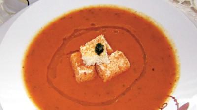Supă-cremă de linte