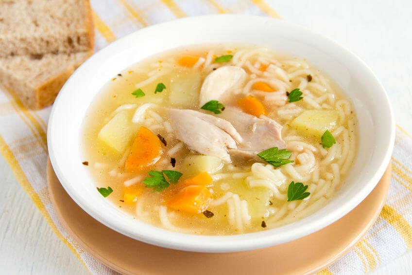 Supa de pui - rețetă simplă