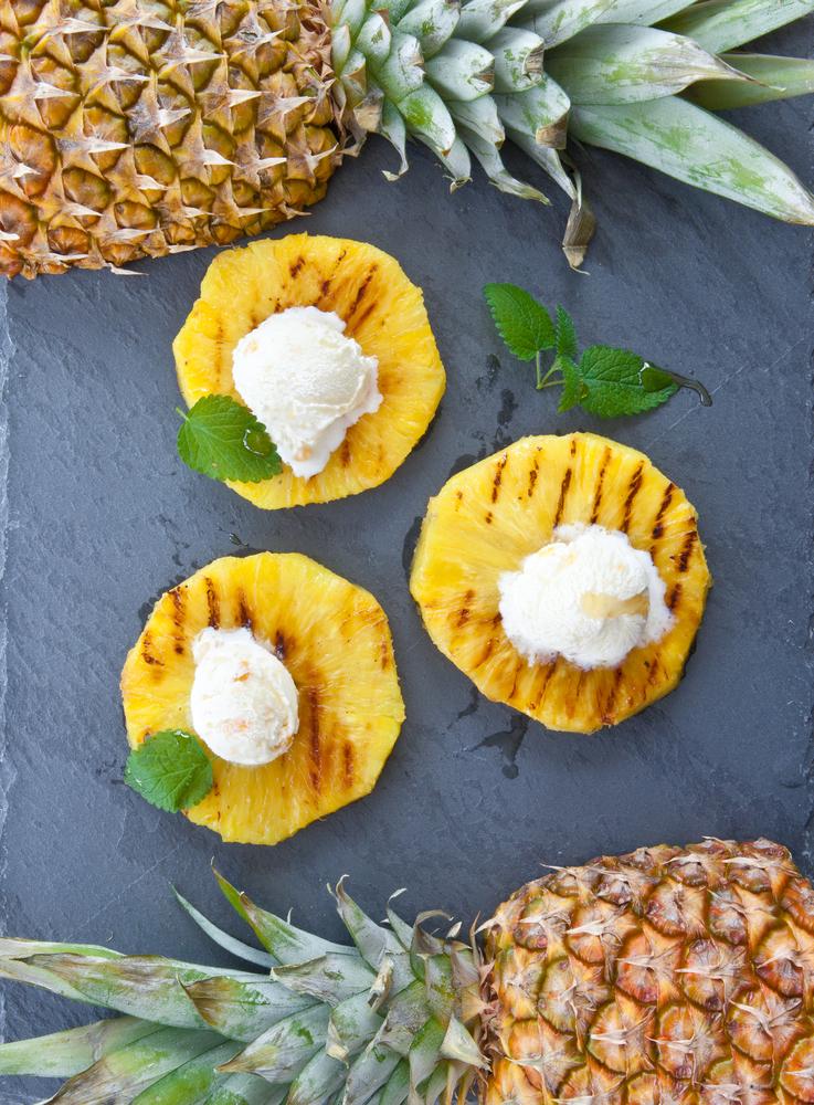 Grătar inedit cu mango şi ananas thumbnail