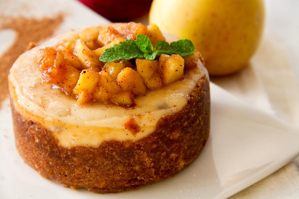 Prăjitură dietetică cu mere şi cardamom