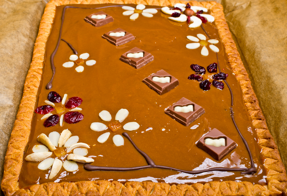 Tort Mazurek polonez cu ciocolata