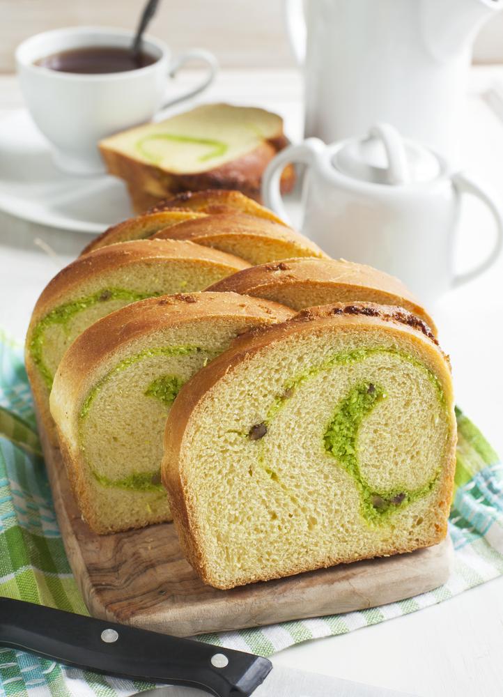 Prăjitură cu cocos şi ceai verde