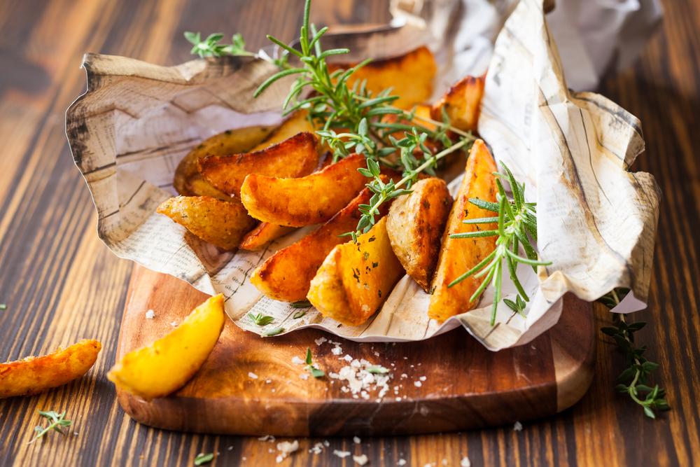 Cartofi copți aromati