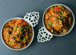 zaalouk - salata marocana de vinete