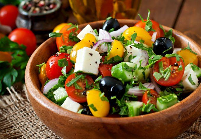 salata grecească