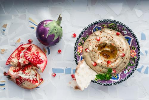 Baba ganoush - salată de vinete orientală