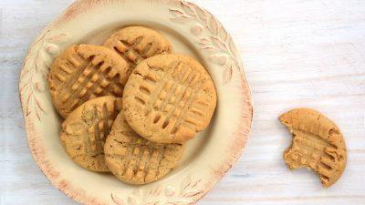 Biscuiți din 4 ingrediente low carb, keto
