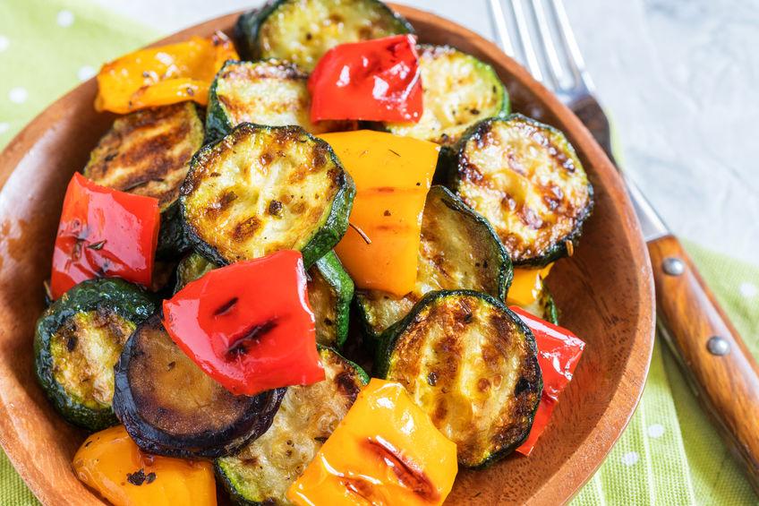 legume la grătar