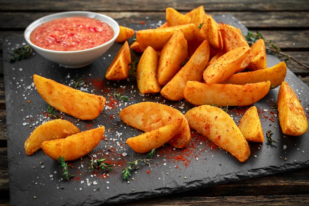 Cartofi wedges rețetă