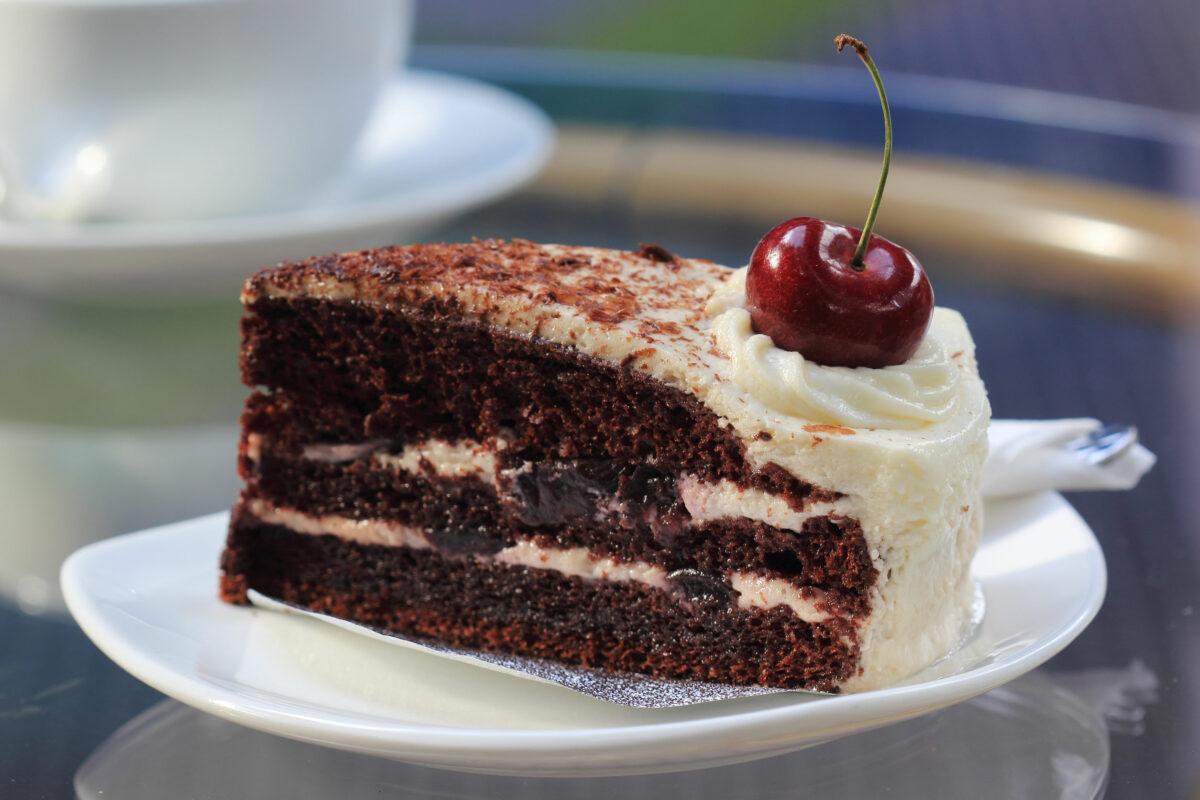 Black Forest Cake tort pădurea neagră