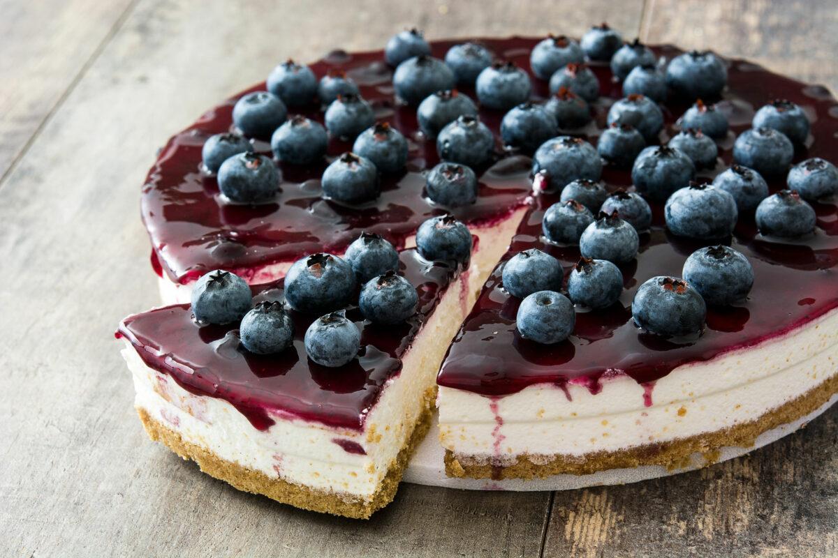 cheesecake fără coacere